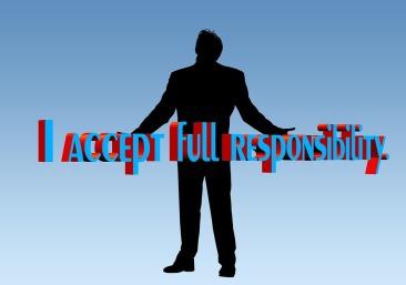 I accept responsibility