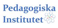 Pedagogiska institutet logga liggande