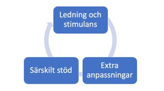 stödinsatser cyklisk process