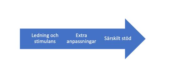 stödinsatser som kontinuum